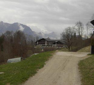 Wanderweg Richtung Hotel Forsthaus Graseck (Vorgänger-Hotel – existiert nicht mehr)