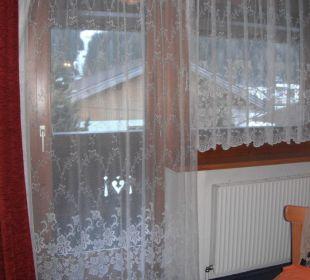 Balkon unseres Zimmers Gästeheim Anna