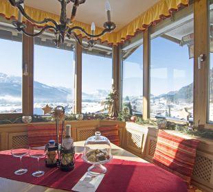 Blick in die Berglandschaft Kaiserwinkl Panorama Ferienwohnungen Neumaier