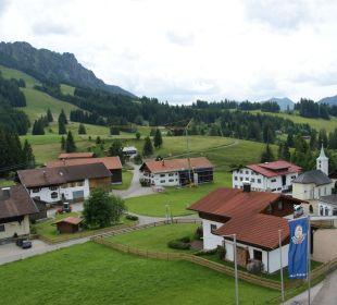 Sicht auf Jungholz Landhaus Wildschütz