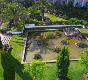 Gartenteich/ Blick aus Zimmer 322 Fuerte Conil & Costa Luz Resort