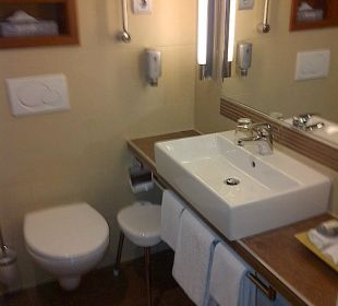 Bad klein, Dusche groß Hotel Platzl
