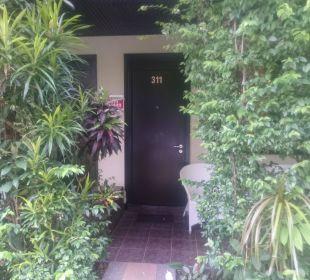 Blick vom Garten K Hotel
