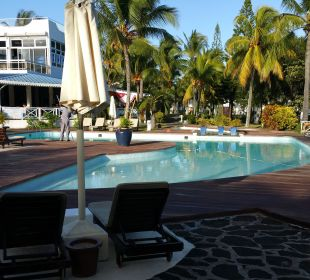 Innenhof mit Pool Coral Azur Beach Resort