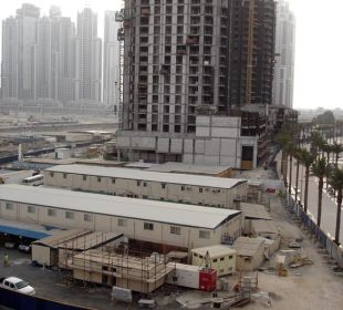Blick vom Balkon Vida Hotel Downtown Dubai