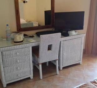Coin télé frigo Hotel Safira Palms