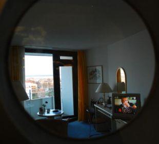Einzelzimmer 9. Stock Hotel Neptun