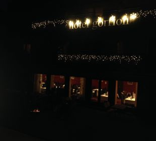 Gorfion bei Nacht  Gorfion - Das Familienhotel