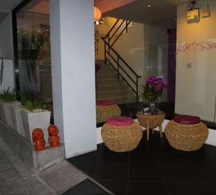 Raucherecke Hotel Lilac Relax-Residence