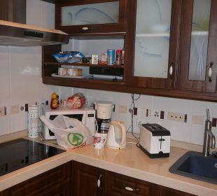 Küche in Nr. 14 Bungalows Ultra Dos Calle Risco Blanco