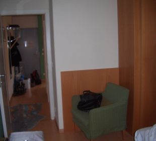 Sessel im Schlafzimmer Hapimag Resort Merano