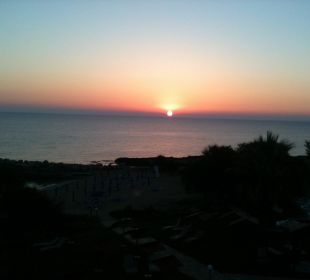 Sonnenuntergang Hotel Mimosa Beach
