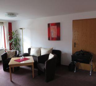 Gemütliche Sitzecke Hotel-Pension Keller