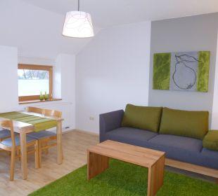Ferienwohnung Quitte Wohnraum Gästezimmer Fewos Familie Neubert