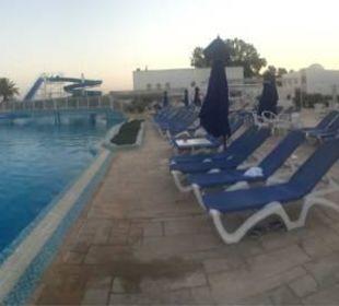 Panorama Bild von der Poolanlage  Hotel Samira Club