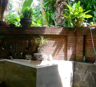 Villa West offenes Bad Ciliks Beach Garden