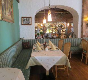 Angenehmes Ambiente im Restaurant Vital Hotel Zum Ritter