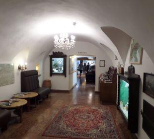 Lobbybereich AktivHotel Hochfilzer