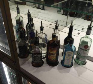 Spirituosen in der Club-Lounge Hotel Langham Place