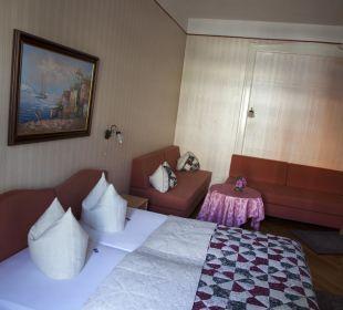 Doppelzimmer, auch als Familienzimmer nutzbar Pension Bismarck