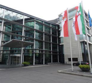 Außenansicht Radisson Blu Hotel Köln