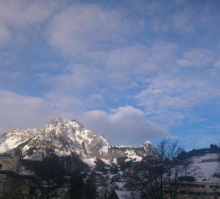 Aussicht vom Balkon, Neujahrsmorgen 2014