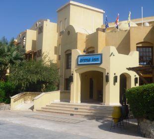 Eingang  Arena Inn Hotel, El Gouna