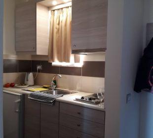 Küchenzeile Hotel Karavos