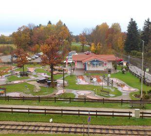 Ausblick aus dem ZImmer Hotel Neuer am See