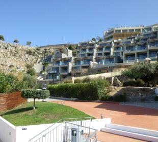 Außenansicht Hotel Lindos Blu