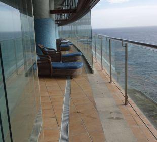 Thalasso Pool Relax-Liegen Gloria Palace Amadores Thalasso & Hotel