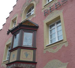 Fassade zum Hof Hotel Landgasthof Rebstock
