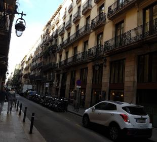 Fassade Hotel Ciutat de Barcelona