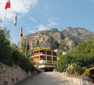 Weg zum hotel Hotel Caravel