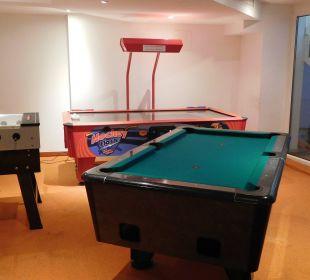 """Das Spielzimmer für """"Große"""" Hotel Bon Alpina"""