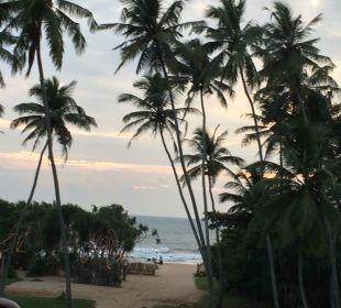 Ausblick von Restaurant Wunderbar Beach Club Hotel