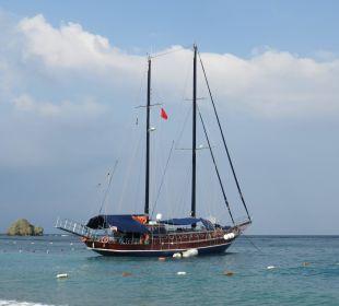 Unser Ausflugsboot Hotel Rixos Premium Tekirova