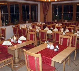 Speiseraum für Hotelgäste Familienhotel Loipenstub'n