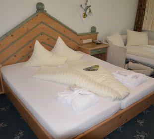 Doppelzimmer mit Schlafsofa Sportiv-Hotel Mittagskogel