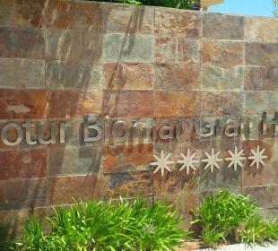 Eingang Gran Hotel & Spa Protur Biomar