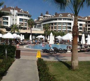 Weg zurück vom Strand  Sherwood Dreams Resort