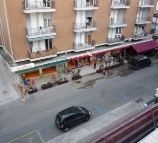 Ausblick von Zimmer 301 Hotel Villa Angelina