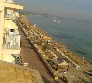 Von oben JS Hotel Horitzó