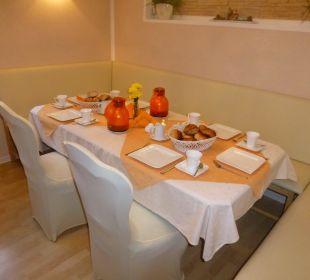 Der Frühstücksraum Hotel Sonneneck
