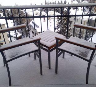 Es hat leicht geschneit ..