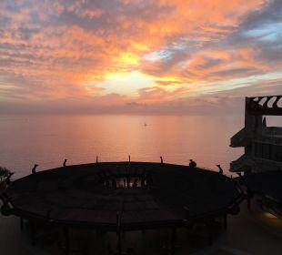 Sunset on the balcony Gloria Palace Amadores Thalasso & Hotel