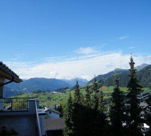 Blick vom Balkon Hotel Alpenroyal