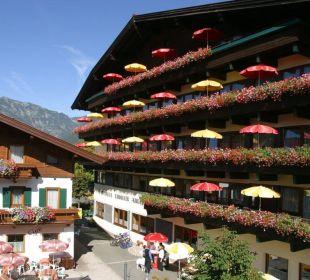 Hotel Südansicht Erlebnishotel Tiroler Adler