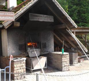 Holzofenstand des Berghotels Berghotel Mummelsee