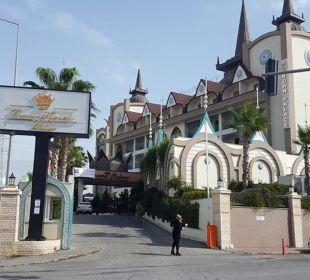 Außenansicht Hotel Side Crown Palace